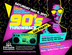 4th Annual 90's Throwback Day Party